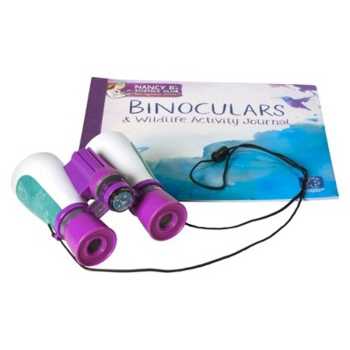 Educational Insights Nancy B's Science Club Binoculars and Wildlife Activity Journal
