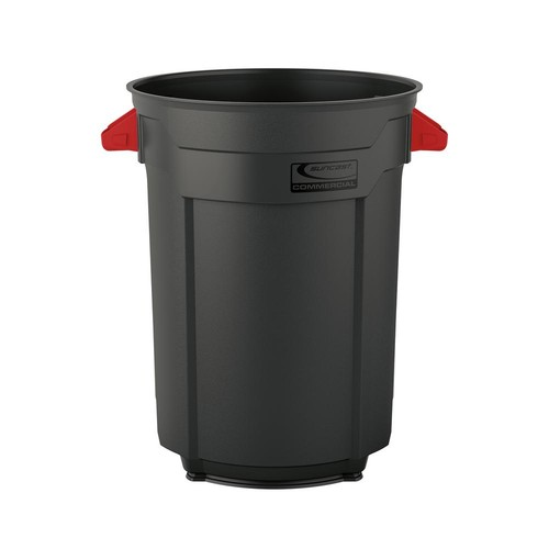 Suncast Commercial 55 Gal. Commercial Utility Trash Can