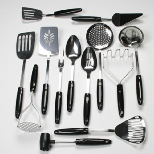 Chef Craft 13-Piece Select Stainless Steel Kitchen Utensil Set