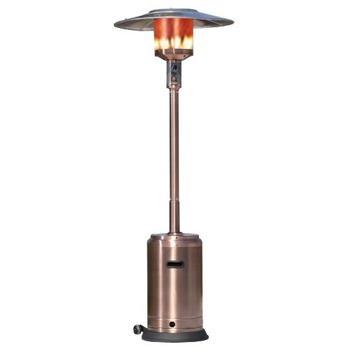 Fire Sense Commercial Patio Heater, Copper Finish (Discontinued by Manufacturer)