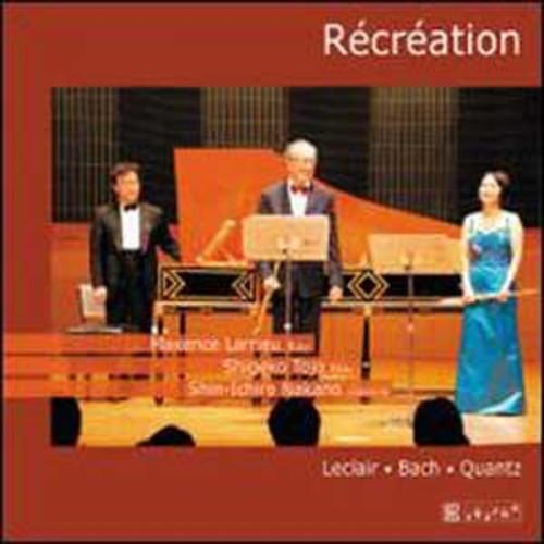 Rcration: Leclair, Bach, Quantz By Shigeko Tojo (Audio CD)