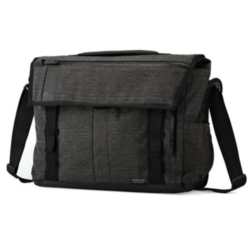 Lowepro Streetline SH 180 Camera Messenger Bag, Charcoal Gray LP36944
