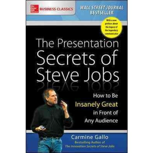 Presentation Secrets of Steve Jobs : How to Be Insanely Great in Front of Any Audience (Reprint)