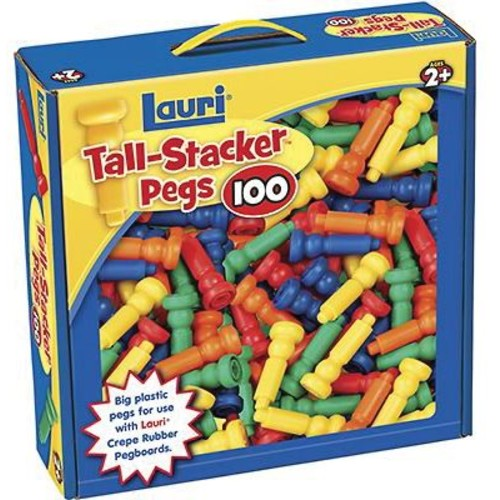 Lauri Toys Tall Stacker Pegs Only