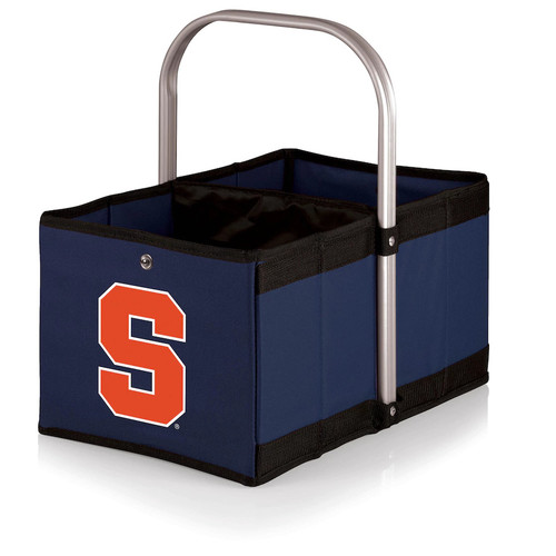 Picnic Time Syracuse Orange Urban Folding Picnic Basket