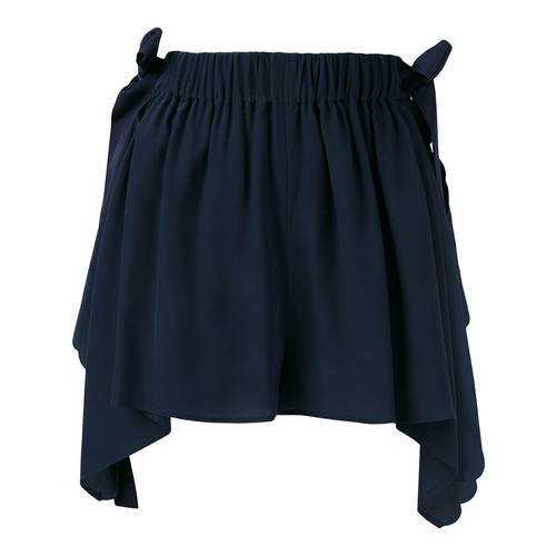 FENDI Scalloped Handkerchief Shorts
