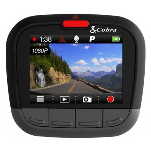 Cobra CDR 875 G Full HD Dash Cam with Internal GPS and Bluetooth iRadar Alerts