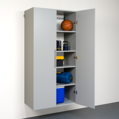 Stone Grey 36-inch Large Storage Cabinet