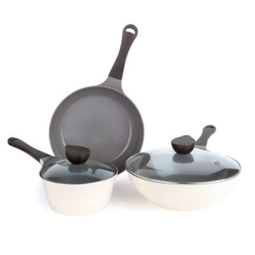 Neoflam Eela Ceramic Nonstick 5-Piece Cookware Set