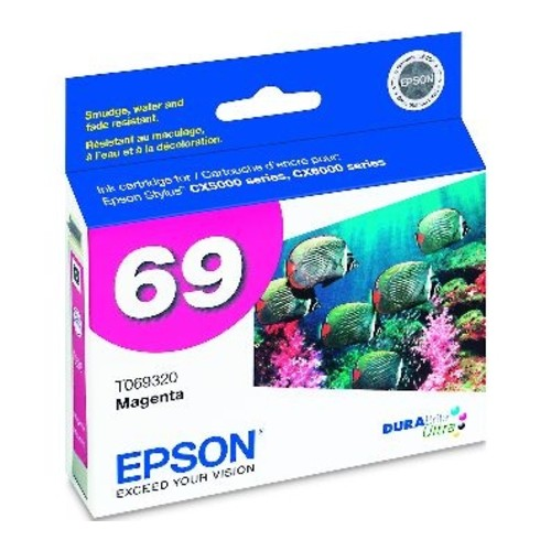 Epson 69 (T069320) DURABrite Ultra Magenta Ink Cartridge