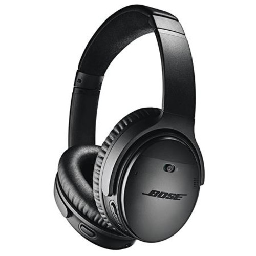 Bose QuietComfort 35 Wireless Headphones II with Mic Black W/Apple Lightning Adp
