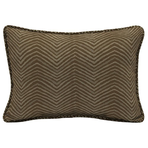 Bombay Outdoors Zebra Pattern 2-piece Reversible Oversize Oblong Throw Pillow Set