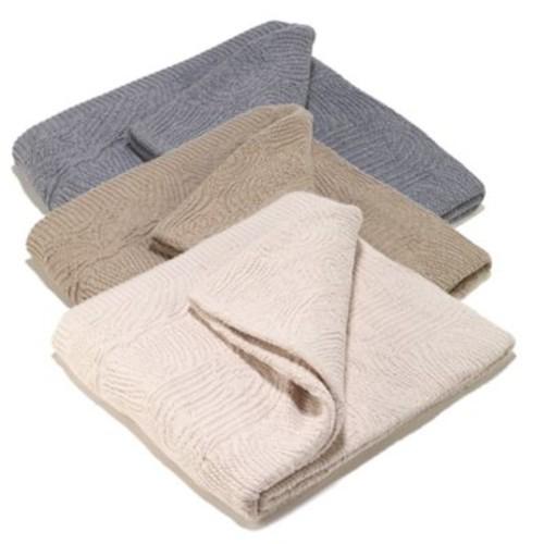 Aura Swirl Throw Blanket