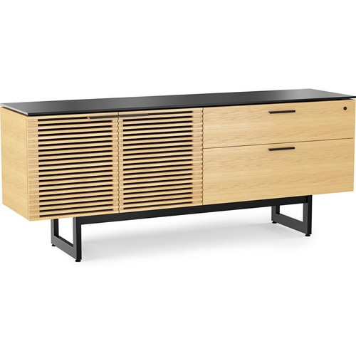 BDI Corridor 6529 (White Oak) Office credenza