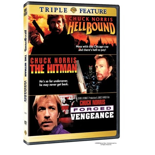 Triple Feature - Hellbound / The Hitman / Forced Vengeance: Various: Movies & TV