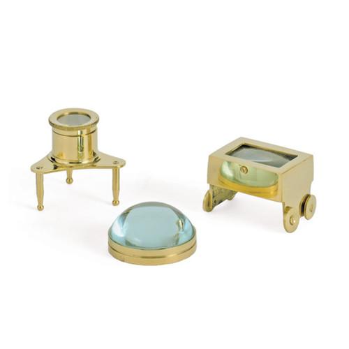 Gold Jeweler Magnify Glasses