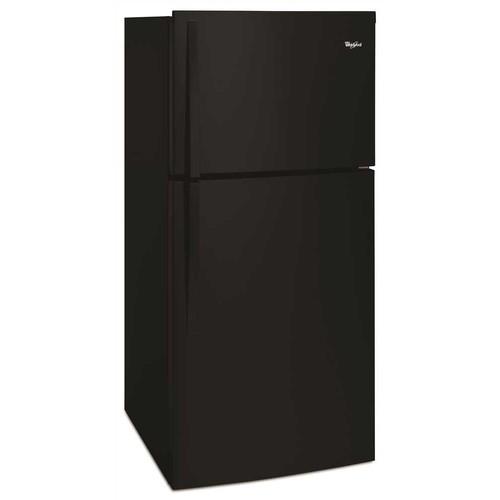 Whirlpool 19.2 Cu. Ft. Top Freezer Refrigerator - Black