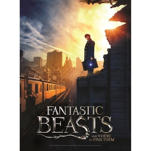 Harry Potter & Fantastic Beasts Poster Puzzles - Fantastic Beasts NYC - multi