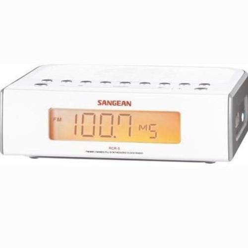 AM/FM/Aux digital Clock Radio by Sangean America