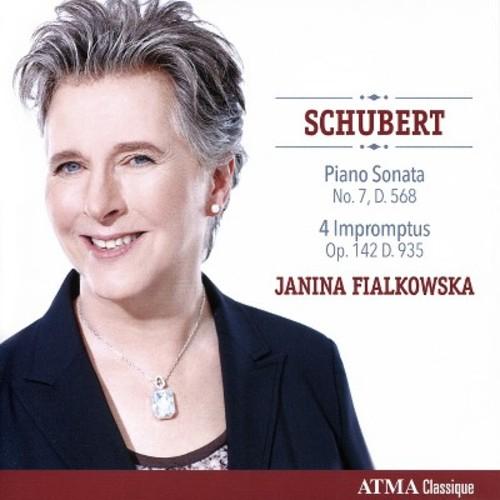Janina Fialkowska - Schubert: Piano Sonata No. 7 Op. 122, D. 568 & Four Impromptus Op. 142, D. 935