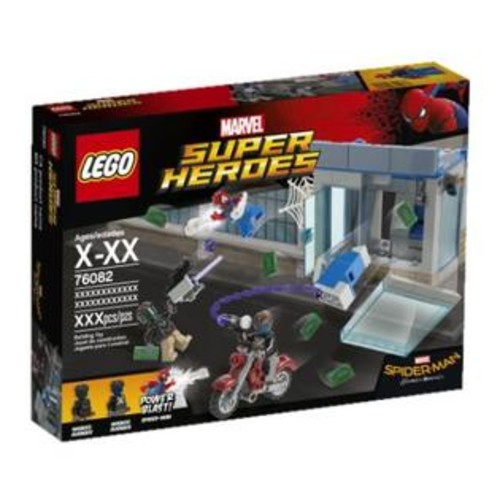 LEGO Atm Heist Battle Spiderman
