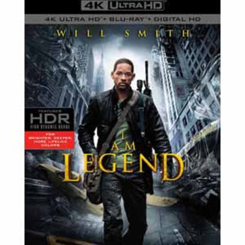 I Am Legend [4K UHD] [Blu-Ray] [Digital HD]