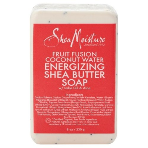 SheaMoisture Fruit Fusion Coconut Water Energizing Shea Butter Soap - 8oz