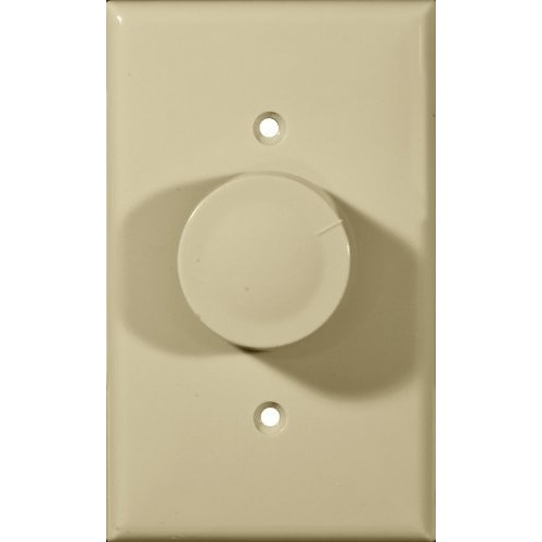Morris 82710 Rotary Dimmer, Single Pole, Turn On/Off, Ivory