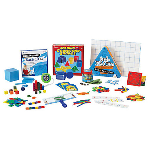 Learning Resources Grade 2 Math Kit - Theme/Subject: Learning - Skill Learning: Mathematics, Subtraction, Measurement, Addition, Shape, Multiplication, Money - 18 Pieces - 7+