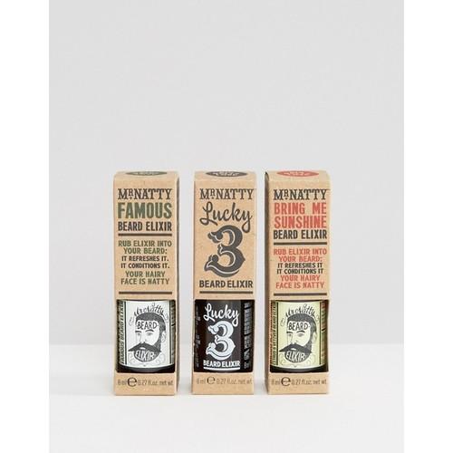 Mr Natty Triplelixir Beard Oil Set