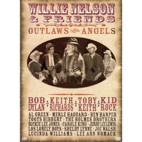 Willie Nelson and Friends Outlaws & Angels (DVD)