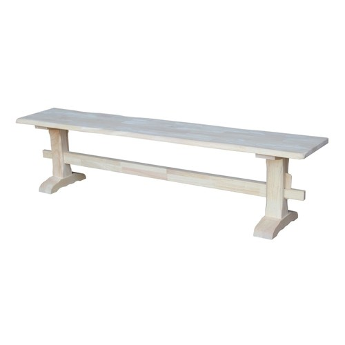 International Concepts Trestle Bench