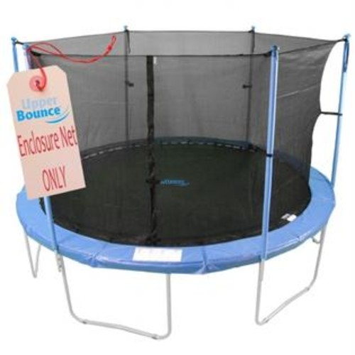 King Service Holdings Inc. Upper Bounce UBNET-7.5-6-IS Trampoline Replacement Enclosure Net, 6 Poles