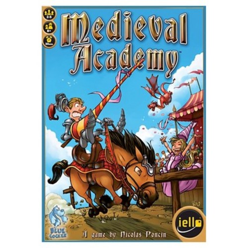 Iello Medieval Academy Board Game
