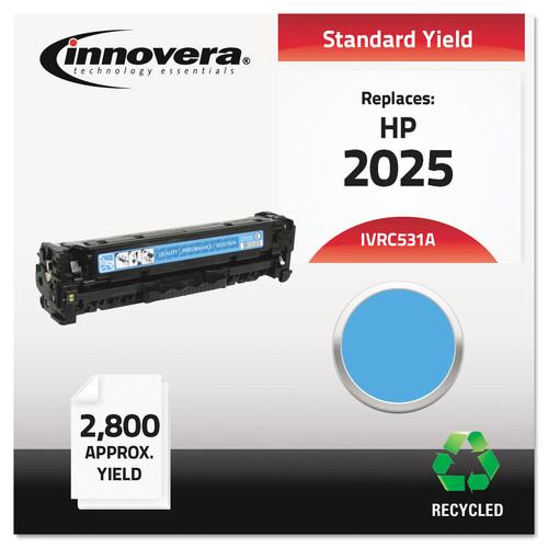 Innovera IVRC531A Remanufactured CC531A (304A) Toner, Cyan