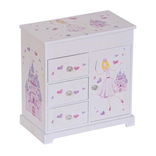 Mele \u0026 Co. Adalyn Girl's Musical Ballerina Jewelry Box
