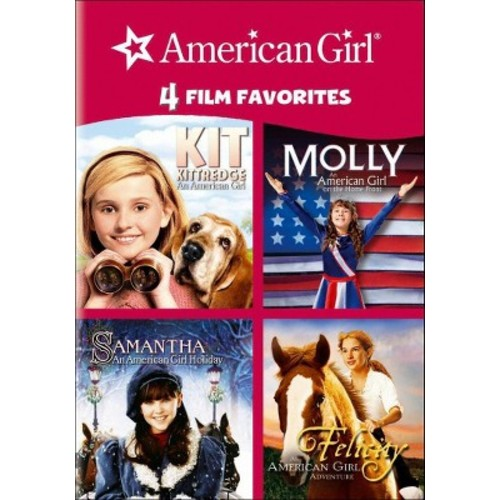 4 Kid Favorites: American Girl (dvd_video)