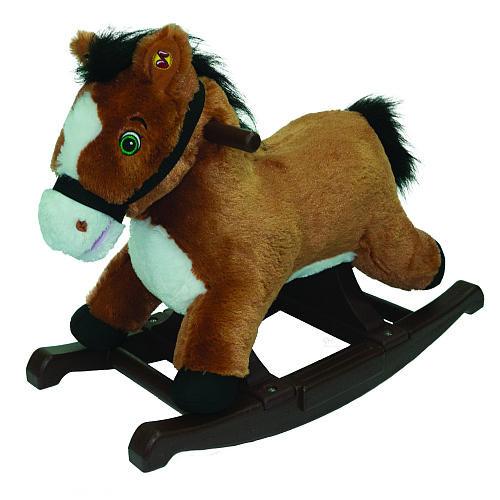 Tek Nek Rockin Rider Plush Thunder Horse