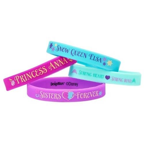 4ct Frozen Rubber Bracelets