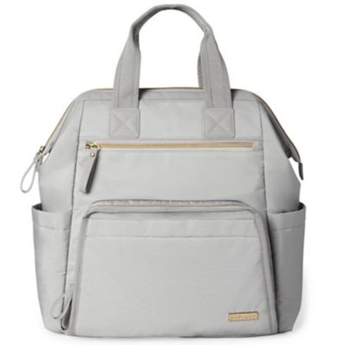 SKIP*HOP Mainframe Wide Open Backpack Diaper Bag in Grey