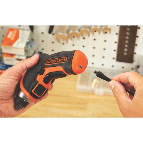 BLACK & DECKER Lithium Ion Cordless Screwdriver