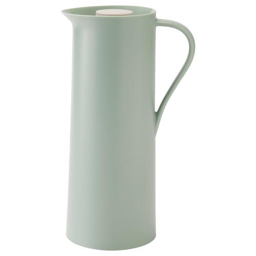 BEHVD Vacuum flask, light green, beige