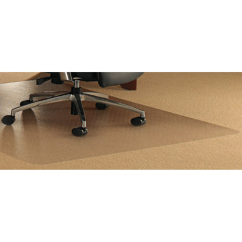 Floortex ClearTex Ultimat Polycarbonate Chair Mat for Carpets, Clear
