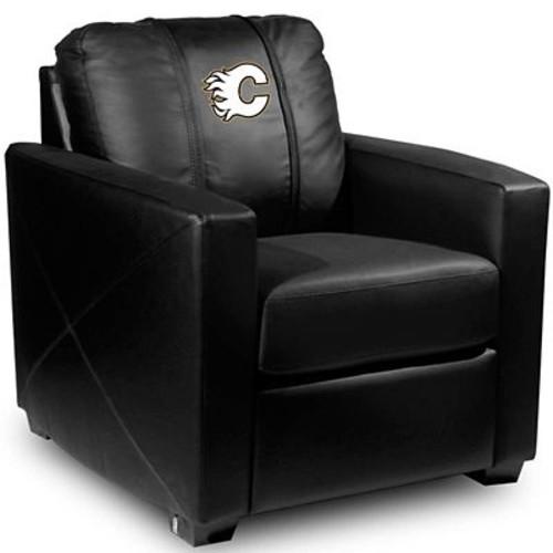 Dreamseat Silver Club Chair; Calgary Flames