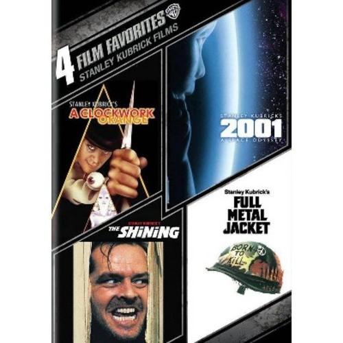 4 Film Favorites: Stanley Kubrick Films [4 Discs] [DVD]