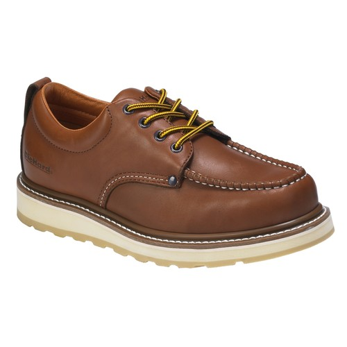 DieHard Men's Soft Toe Leather Oxford Work Shoe - Brown [Width : Medium]