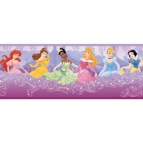Inspired By Color Kids Perfect Princess Border, Purple