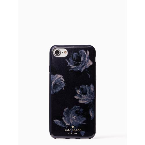 night rose glitter iphone 7/8 case