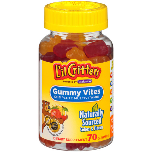L'il Critters Gummy Vites Children's Multi Vitamin 70 Count