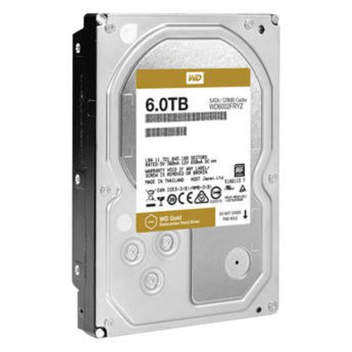6TB Gold 7200 rpm SATA III 3.5